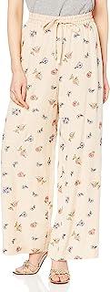 GRACE CONTINENTAL 裤子 小花刺绣阔腿裤 女士 012111194