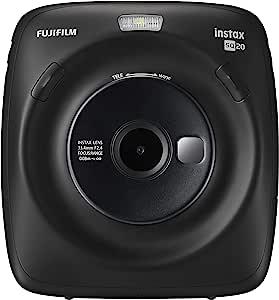 Fujifilm 富士 混合动力即时相机 instax SQUARE SQ 20 哑光黑色 INS SQ 20 黑
