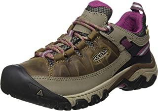 KEEN 女士 Targhee Iii 防水徒步旅行及远足低帮鞋