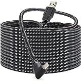KRX Link 电缆兼容 Oculus Quest 2、Fast Charing 和 PC 数据传输 USB C 3…