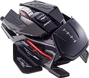 MAD CATZ R、 A.T.Pro X3游戏鼠标(USB/黑色/16000dpi/10个按钮)-MR05DCINBL001-0