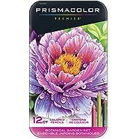 Prismacolor Premier 彩色铅笔,软芯,植物园套装,12支