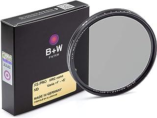 德国 B+W XS-PRO ND Vario MRC(Nano)82mm 多层可调减光镜 正品400防伪 送奥易洁镜头布