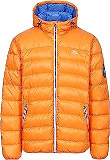 Trespass 惠特曼 zusammenrollbare 超轻保暖羽绒夹克带帽, 90% 羽绒适用于男士,