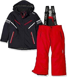 CMP 男童滑雪套装夹克和裤子 39 W1844 套装,男孩款,39W1844