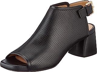 Geox 健乐士 女士 D Genziana Mid E 露趾凉鞋