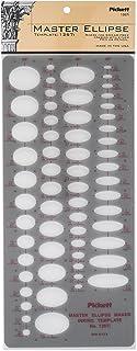 Pickett Master 椭圆形模板 (1267I)