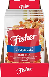 FISHER Snack Tex Mex Trail Mix 3.5 Ounce (Pack of 6)