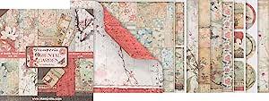 Stamperia International KFT 纸纸 - 东方花园,30.5 x 30.5(30.5 x 30.5 厘米),多色
