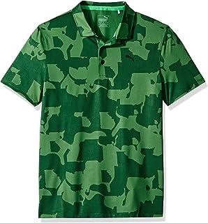 PUMA Golf Boys 2019 Union Camo Polo 衫