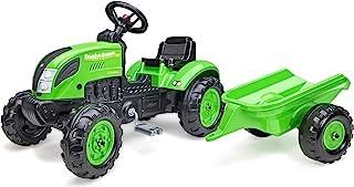 Falk – 拖拉机带踏板乡村农民*带拖车 – 2 岁以上可定制 – 方向盘带喇叭 – 2057L