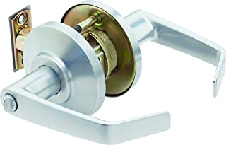Stanley Best 7KC 37 AB 15D S3 626 7 针轮廓角度回流中型锁具,入口,绸缎铬,2 英寸