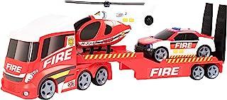 Teamsterz 1416658 灯光和声音消防救援直升机运输机