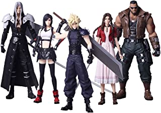 "Square Enix Final Fantasy VII 7 Remake Trading Arts 7""(约17.78厘米)手办 - 5 件套"