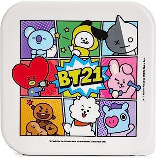 BT21 3 件装零食盒   标志性 LINE BTS 交叉人物  送给朋友、家人和粉丝的完美礼物