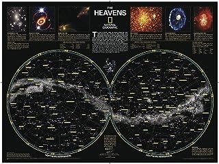 国家地理: 天堂 - 海报 - 77.5 x 57.8 厘米 - 艺术品质印刷