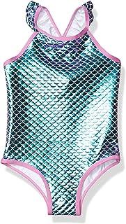 Pink Platinum 女童美人鱼泳衣