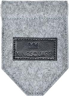 Kingsquare 口袋方巾夹 - 男式西装/外套/方形口袋