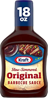 Kraft Barbecue Sauce Slow-Simmered Original, 18 Ounce (Pack of 12)