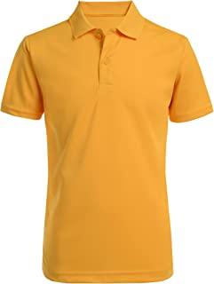 Nautica 诺帝卡 男童校服短袖性能 Polo 衫