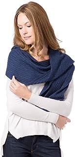 Fishers Finery 女士舒适羊绒针织冬季围巾