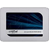 Crucial 英睿达 MX500 2TB 3D NAND SATA 2.5英寸(约6.35cm) 内置固态硬盘 - C…