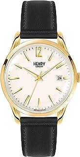 Henry Westminster 伦敦中性款手链手表模拟石英皮革(HL39)