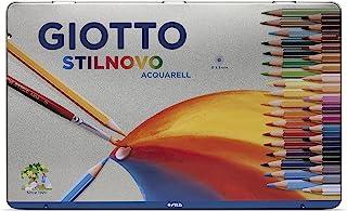 意大利 GIOTTO 奇多 3.3mm水溶笔芯36色水溶彩色铅笔 铁盒装256400