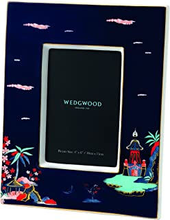 "Wedgwood 40023892 Wonderlust 框架,4 x 6 Blue Pagoda 4 x 6"" 40023888"