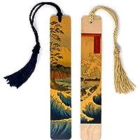 The Great Wave and Fuji 山(套装)由日本 Ukiyo-e Woodblock 艺术家北斋创作,彩…