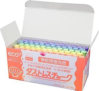 日本理化学 达拉斯纤维荧光粉笔 6色 6色