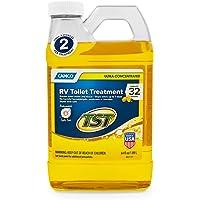 Camco TST 超浓缩木槿花香 RV 厕所处理,无甲醛,分解废料和组织,化粪池*,* 64 oz. 41575