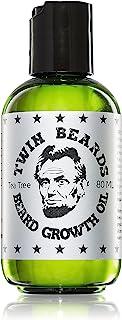 Twin Beards - 胡须生长油茶树香味 3 盎司