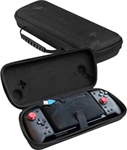 ButterFox Grip 手提箱适用于 Hori Nintendo Switch Split Pad Pro 控制器和 ButterFox 可移动手柄