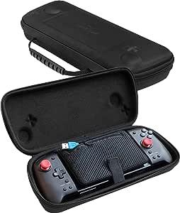 ButterFox Grip 手提箱适用于 Hori Nintendo Switch Split Pad Pro 控制器和 ButterFox 可移动手柄