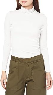 [SIES]智能热能宽松领T恤(S~5L・防静电・吸湿发热・吸汗速干・2种长度) 女士 NB-4009