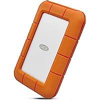 LaCie 莱斯 Rugged USB-C 5 TB外置硬盘便携式硬盘 - USB 3.0,跌落防尘防雨穿梭驱动器,适用…