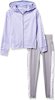 Reebok Tracksuit Tod Intl 2 件套 Reebok 夹克套装 - 女孩运动服