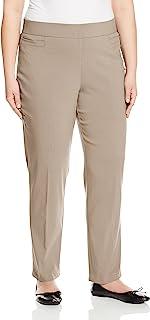 Briggs 女士加大码超弹力千年贴边口袋套头职业裤