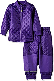 MIKK-Line - 麦尔登儿童与婴儿和儿童上衣和裤子保暖套装,防水防风防风