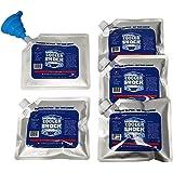 5 件套冷藏减震午餐袋尺寸冰包 - 高性能 18 华氏度,使用相移科学实现 8-10 小时冷却 - 避免损坏,让您吃午餐…