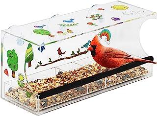 Hapinest 装饰您自己的窗户鸟喂食器套装儿童艺术和工艺品