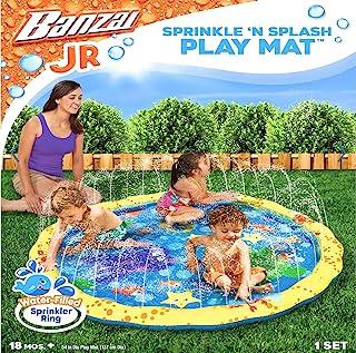 Banzai 14663池带洒水装置 planschbecken 滑梯 Sprinkle * Splash Play Mat , 直径147厘米