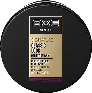 Axe 经典 男士发蜡,适合中短型头发,6件装(6 × 75 毫升)
