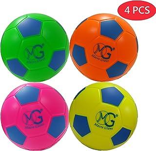 Macro 巨大 6 英寸(直径)*软泡沫足球,4 件套,初学者,训练练习,儿童玩具