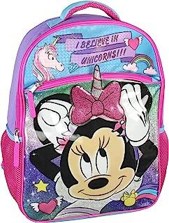 Disney Minnie Mouse I Believe In Unicorns 16 英寸背包