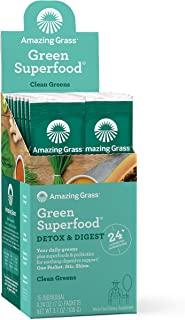 Amazing Grass - Superfood Detox &文摘小包 - 15数据包