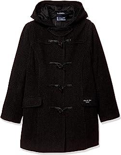 [橄榄色学院]橄榄色学院 简约粗呢大衣[炭灰色] 1J90007-08 女孩