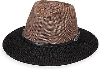 Wallaroo Hat Company 女式 Monroe 软呢帽 – UPF 50+,现代风格,澳大利亚设计