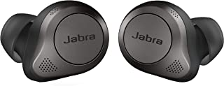 Jabra 捷波朗 Elite 85t True 无线蓝牙耳塞,钛黑色 - 高级降噪耳塞,带充电盒,适用于通话和音乐 - 无线耳塞,具有卓越的声音和高级的舒适性